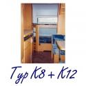 Typ K8 + K12